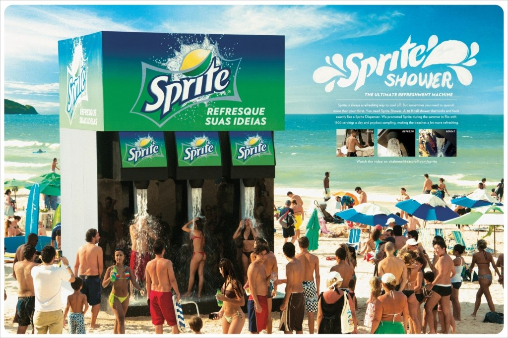Sprite Shower - Marketing Experiences
