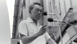 Lee Kuan Yew Election Rally 1976