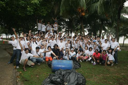 Coca Cola International Coastal Cleanup