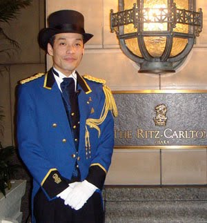 Ritz Carlton Staff