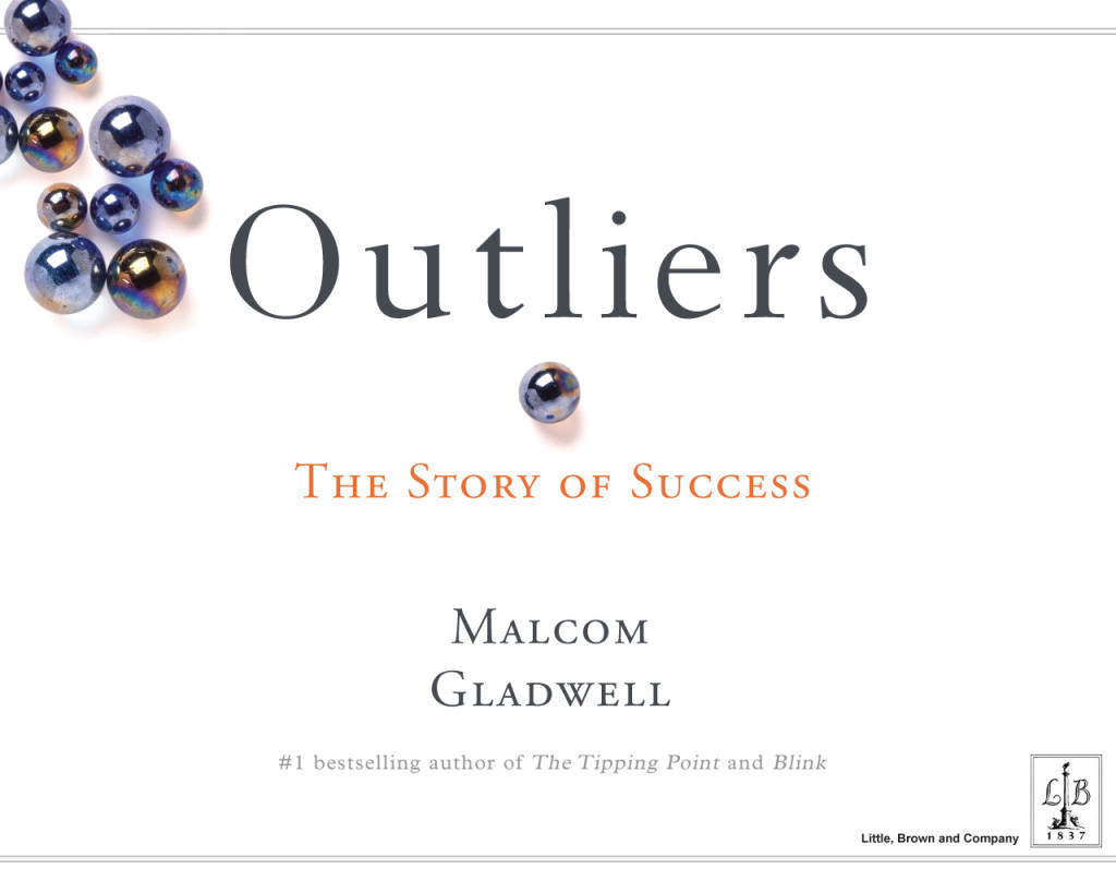 review on the book outliers