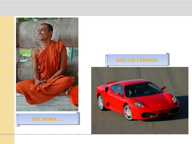 lessons from the monk who sold his ferrari cooler insights. Cars Review. Best American Auto & Cars Review