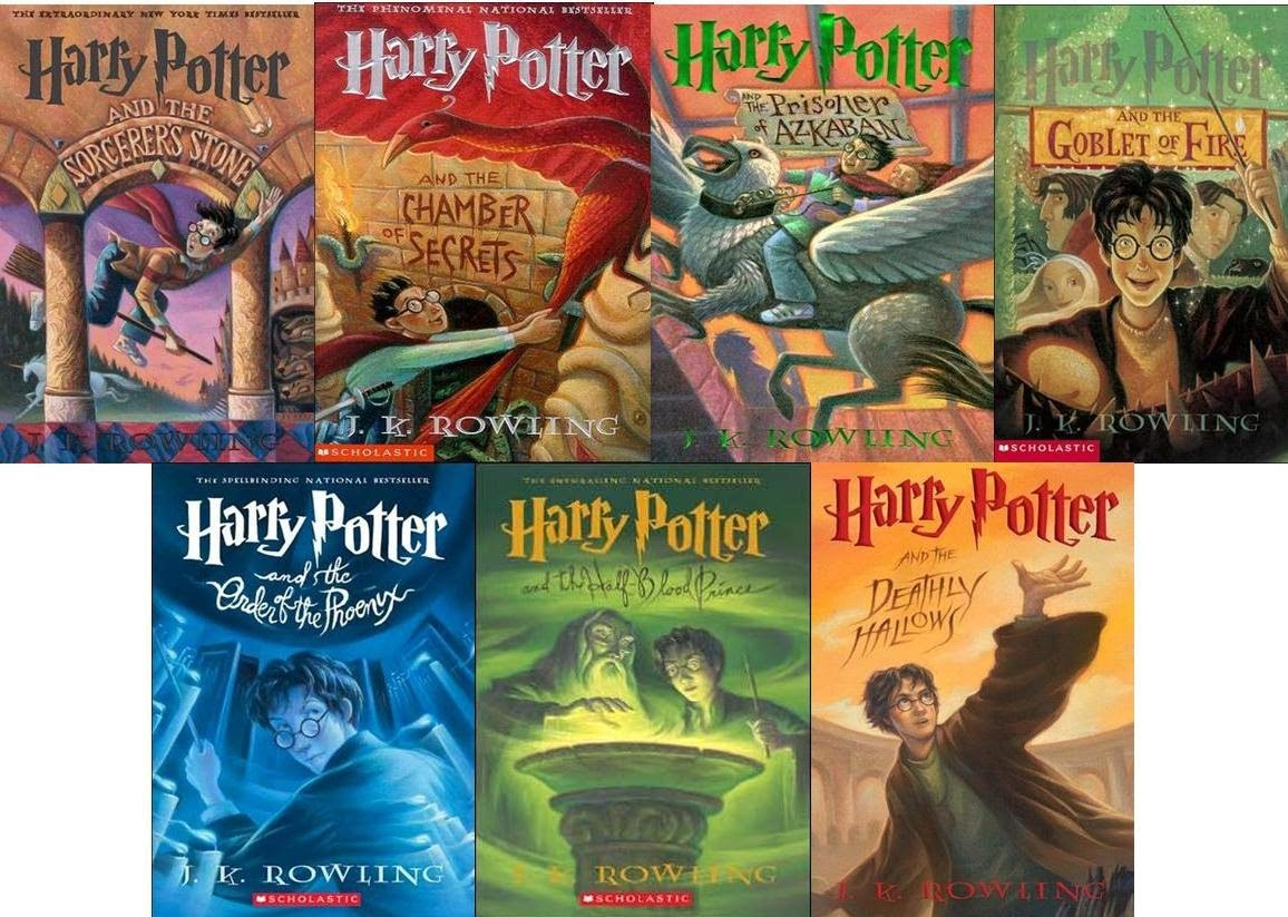 The global success of the harry potter books