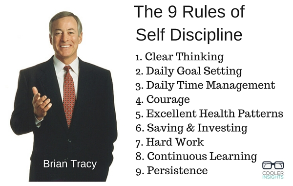 Embrace the 9 Rules of Self Discipline