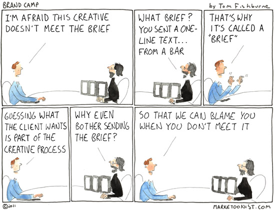 How to Write a Social Media Brief - Tom Fishburne