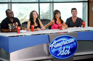 Coca Cola product placements American Idol