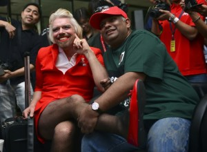 Like a Virgin Richard Branson and Tony Fernandes