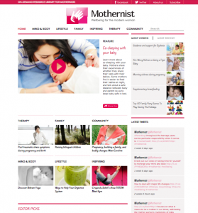 Mothernist-Screen-Shot-Home-Page