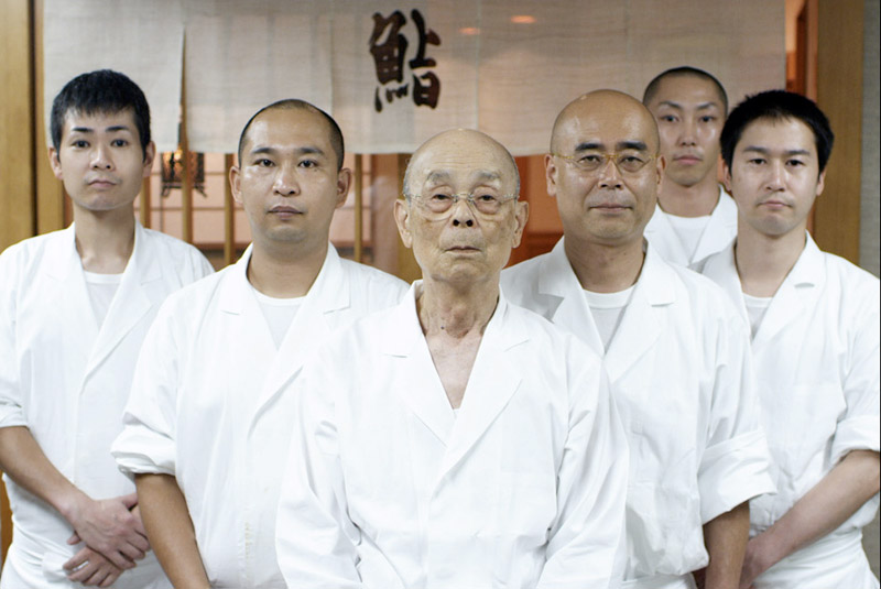 Jiro Ono all male staff