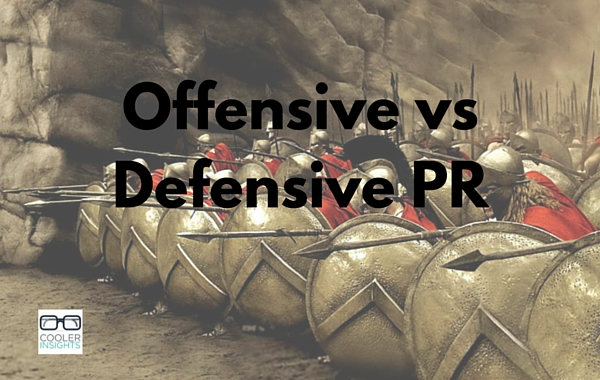 Offensive vs Defensive PR