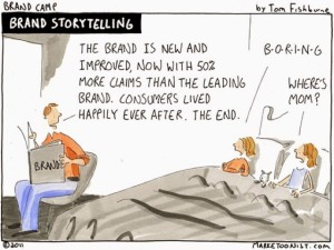 7 Is of Brand Social Storytelling