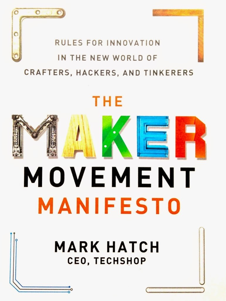 Maker Movement Manifesto Book Cover