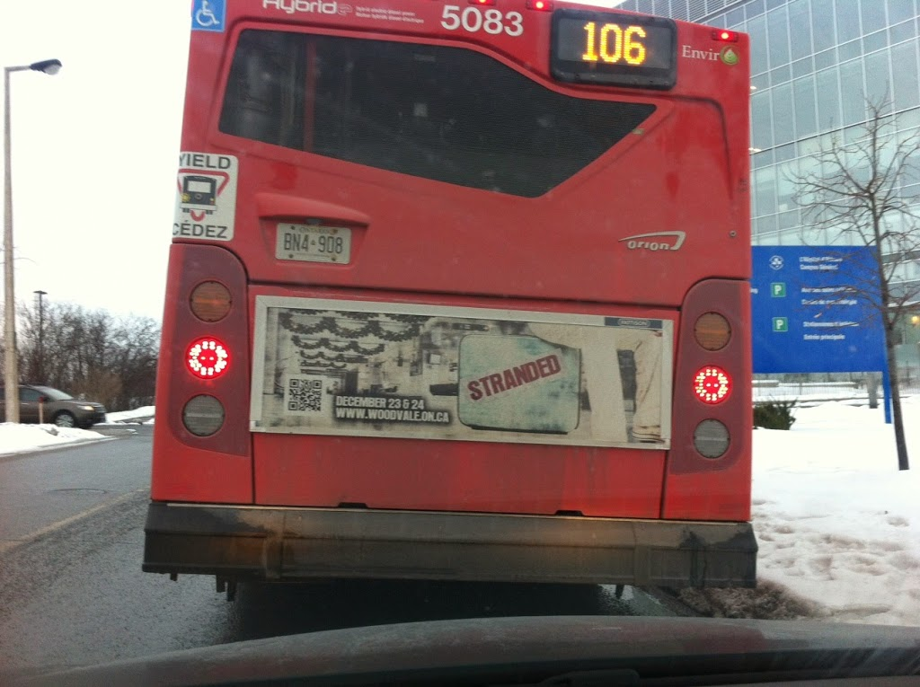 QR Codes Fail Bus