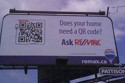 QR Codes Remax Fail