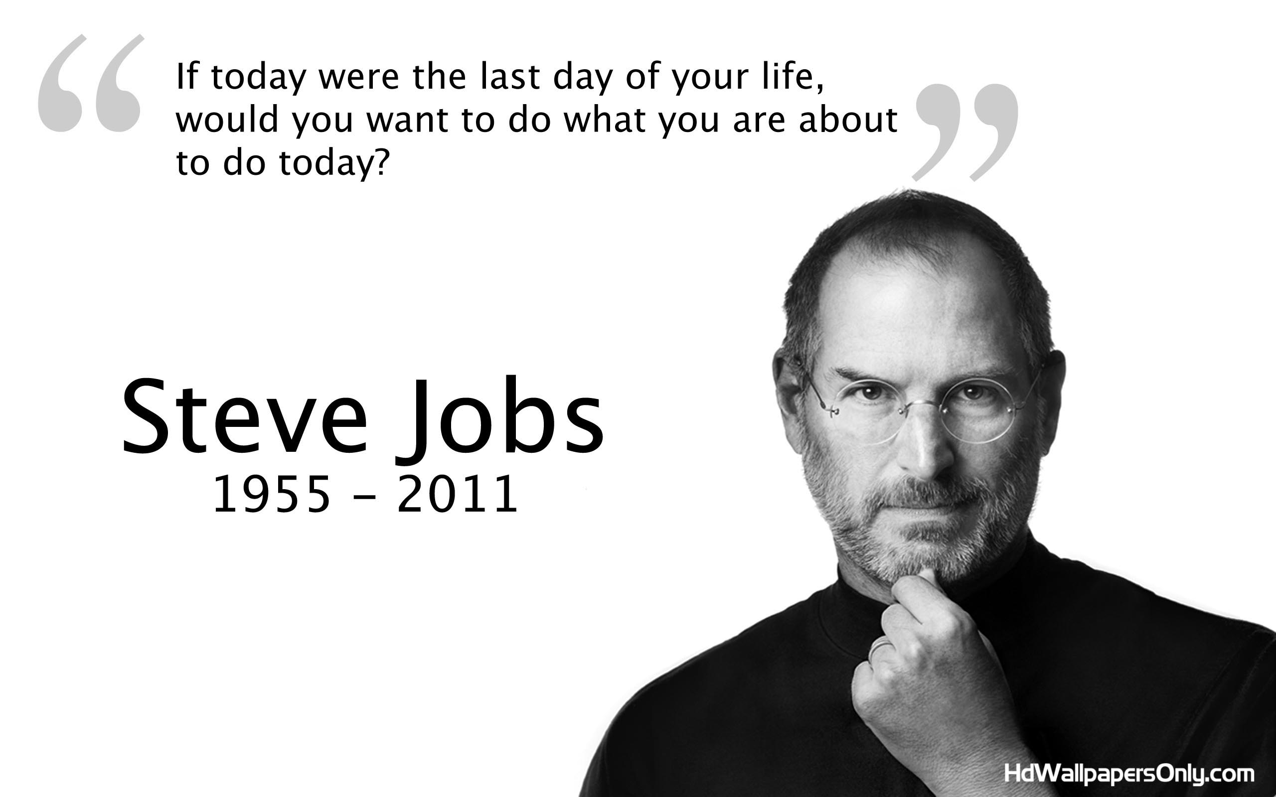 Steve Jobs Quotes On Life Prepossessing Steve Jobs Quotes