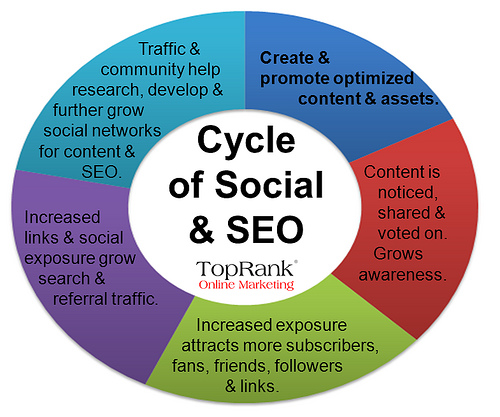 SEO and Social Media Cycle
