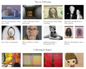 Artsy Collecting Tips
