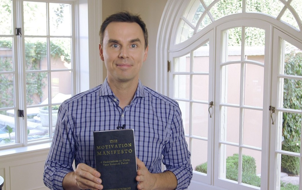 Brendon Burchard Motivation Manifesto