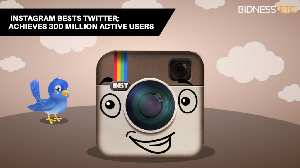 Instagram beats Twitter 300 million users