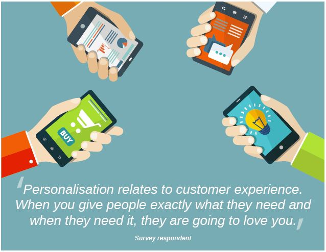Personalisation and Customer Experience 2015