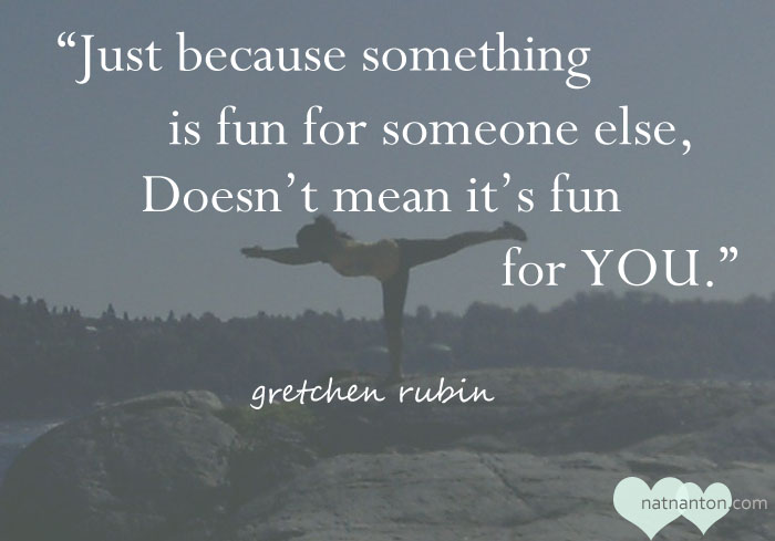 Gretchen Rubin Quote