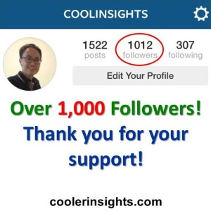 Over 1000 supporters!