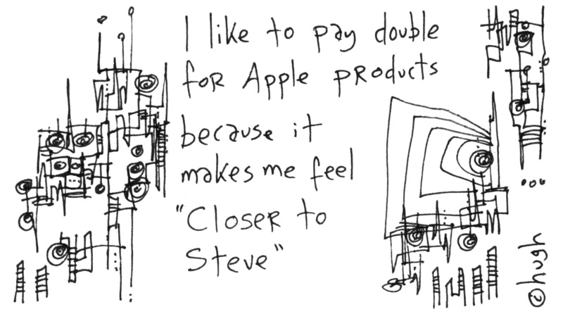 Paying Double for Apple Products