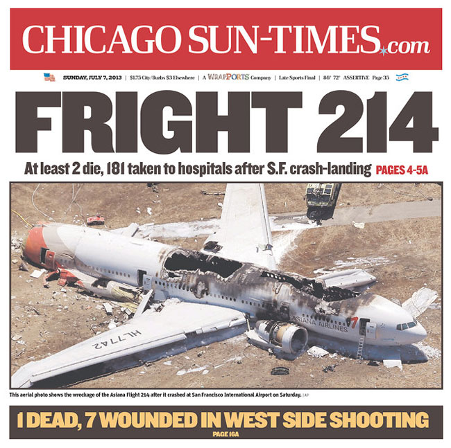 Chicago Sun Times bad Puns