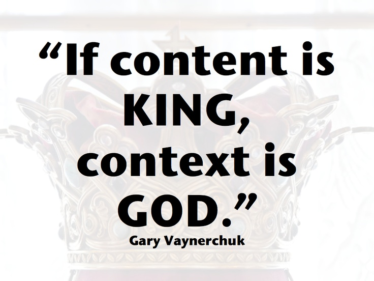 Content Marketing Gary Vaynerchuk quote