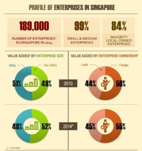 Profile of Enterprises in Singapore