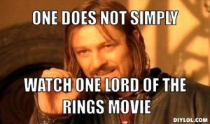 Boromir Meme Lord of the Rings