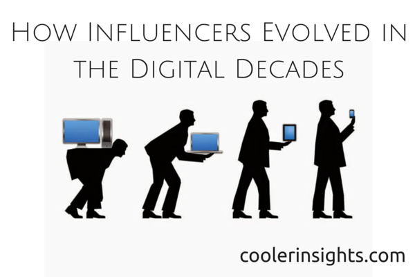 How Influencers Evolved in the Digital Decades