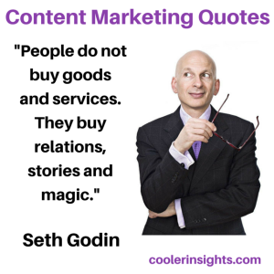 Instagram - Content Marketing Quotes Seth Godin 2