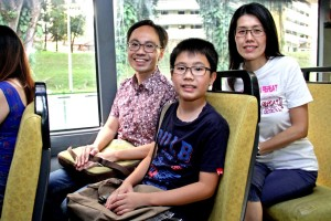 Walter Lim and family