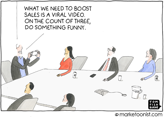 viral video marketoonist