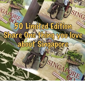 50 Limited Edition Singapore in the 60s Books Up For Grabs