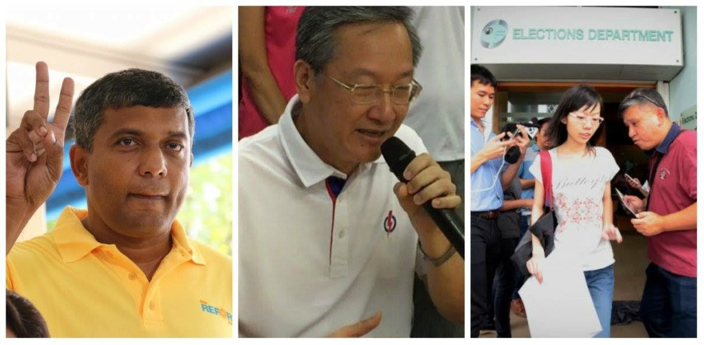 Candidates for Radin Mas SMC in GE 2015