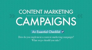 Content Marketing Campaigns Infographic