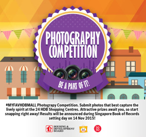 Photography Competition HDB Mall
