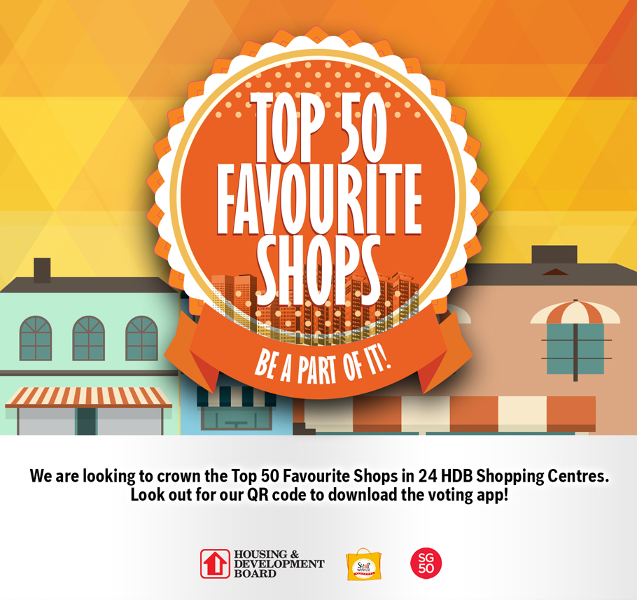 Vote for your Top 50 Shops