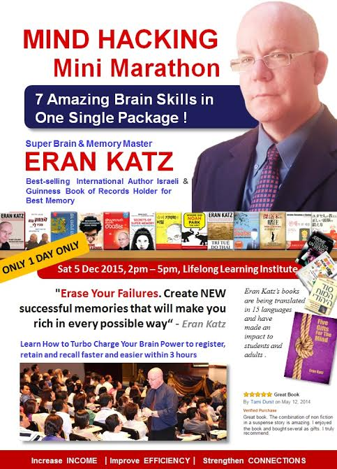 Eran Katz Mind Hacking Workshop