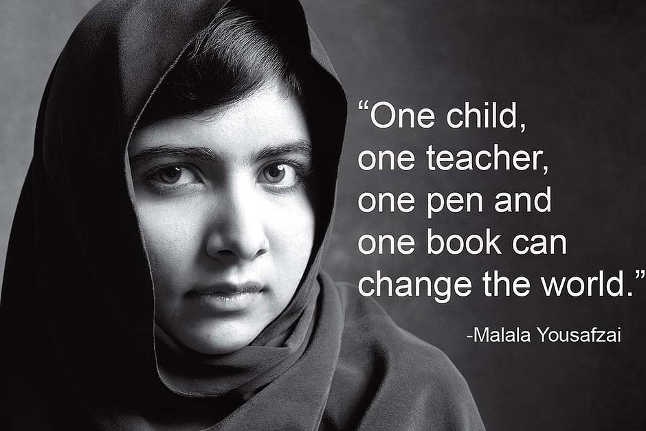 How Teenager Malala Yousafzai Changed The World Cooler Insights