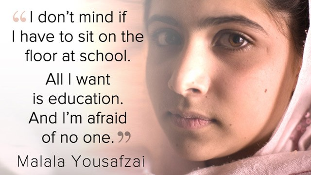 Malala Yousafzai quote 1