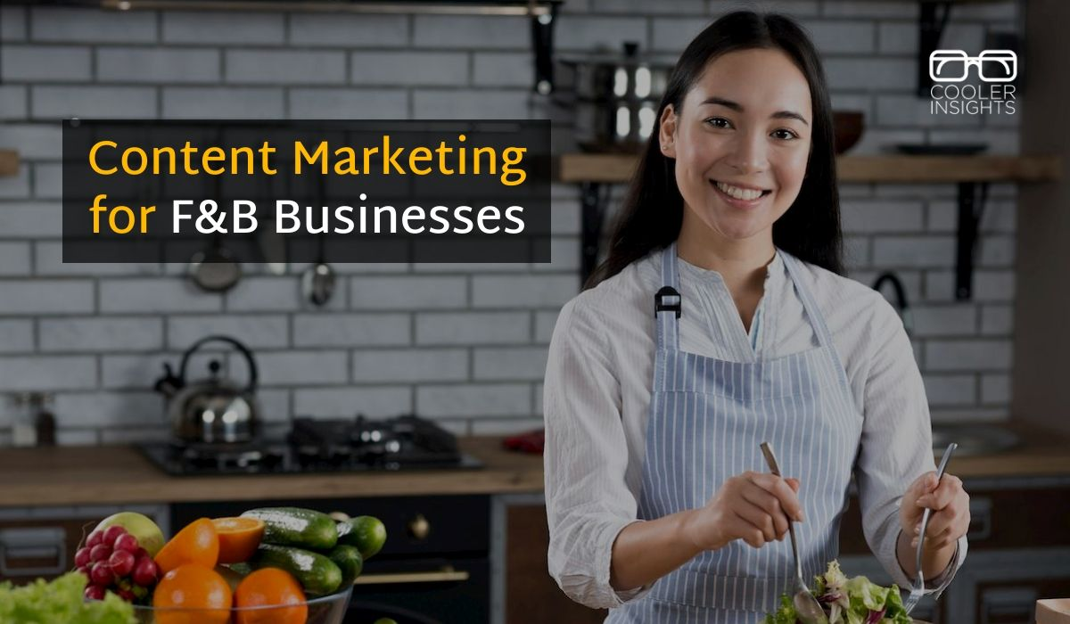 Content Marketing restaurants and food