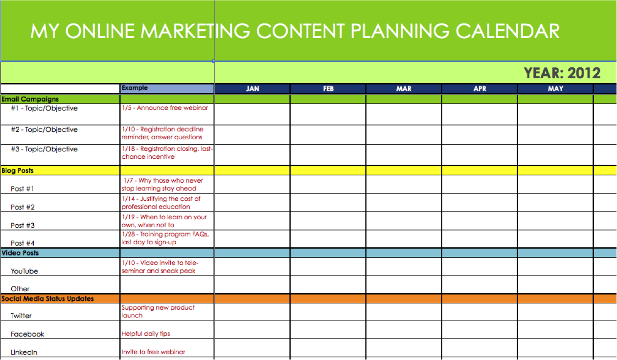6 useful content marketing tools and templates