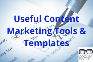 Useful Content Marketing Tools and Templates
