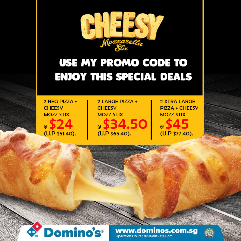 Domino's Pizza Social Media Promotion Coupon Code