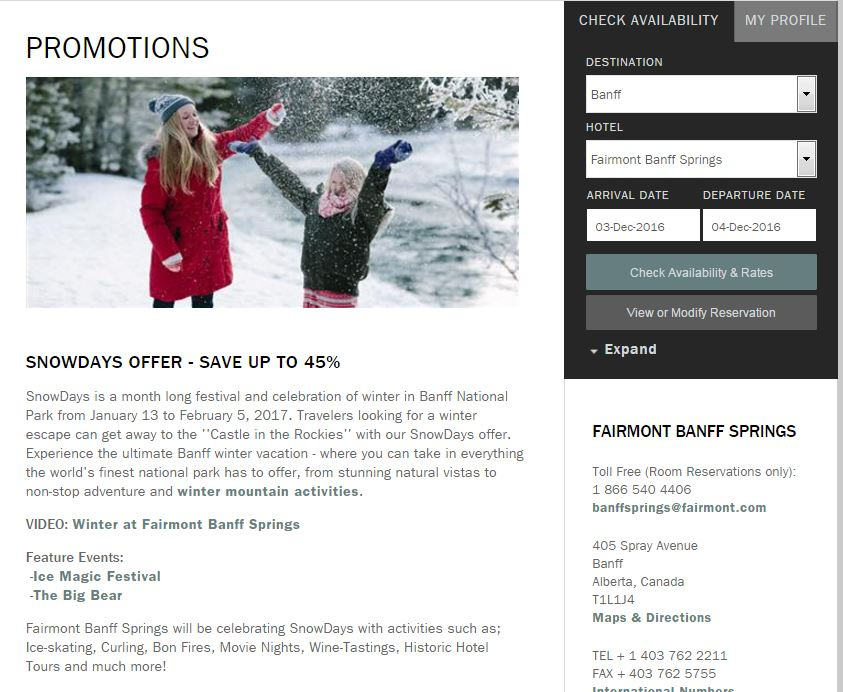 fairmont-snowdays-offer