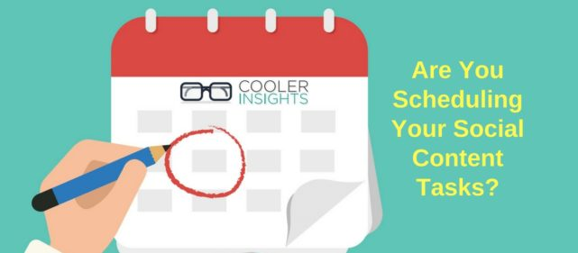 Schedule Your Social Content Tasks