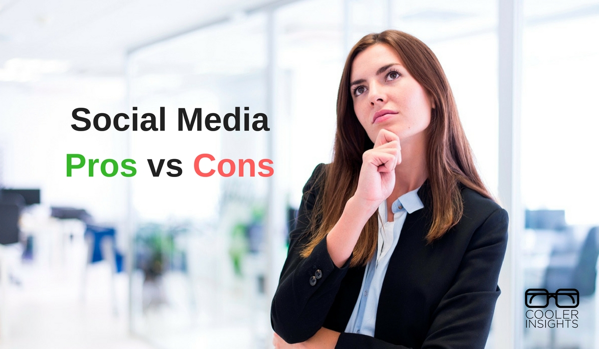 The pros and cons of social media marketing cooler insights the pros and cons of social media marketing ccuart Images